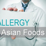 Allergy test Asian foods