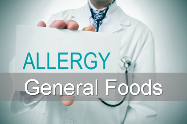 Allergy test gneral foods