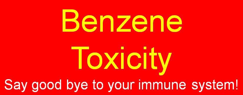 Benzene toxicity symptoms