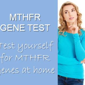 MTHFR gene mutation saliva test