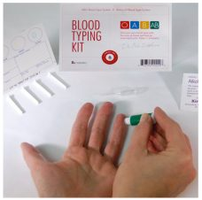 Home blood typing kit example australia